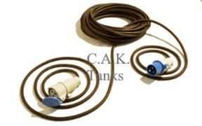 MAINS INPUT 10 METRE HOOK UP LEAD 3 x 1.5